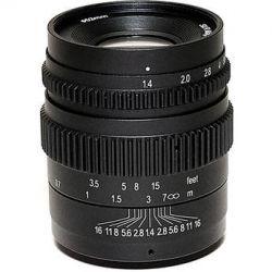 SLR Magic Cine 35mm T1.4 Mark II Lens with MFT SLR-3514MFT (II)