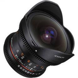 Rokinon 12mm T3.1 ED AS IF NCS UMC Cine DS Fisheye Lens DS12M-P
