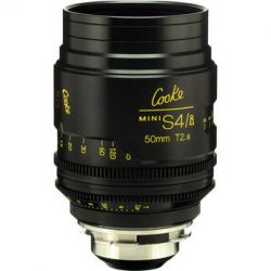 Cooke 50mm T2.8 miniS4/i Cine Coated Lens CKEP 50 B&H Photo