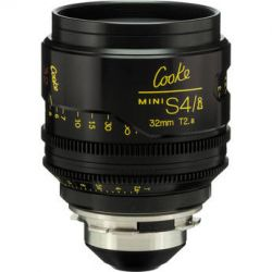 Cooke 32mm T2.8 miniS4/i Cine Coated Lens CKEP 32 B&H Photo