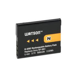 Watson NP-BN1 Lithium-Ion Battery Pack (3.7V, 600mAh) B-4202 B&H