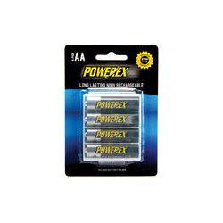 Powerex Rechargeable AA NiMH Batteries (1.2V, 2700mAh) MHRAA4