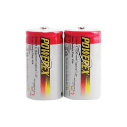 Powerex NiMH Rechargeable D Batteries (1.2V, 11,000mAh) MH-2D110