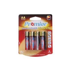 Promier AA Super Alkaline Hi-Tech Batteries (4-Pack) HTLR06-BP4
