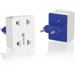 Travel Smart by Conair NWD1 Dual Outlet Adapter Plug NWD1 B&H