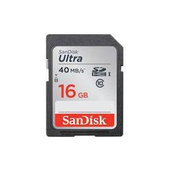 SanDisk 16GB Ultra UHS-I SDHC Memory Card SDSDUN-016G-G46 B&H