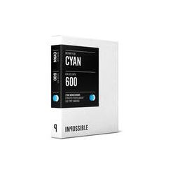 Impossible Cyan 600 Monochrome Instant Film for Polaroid 3251