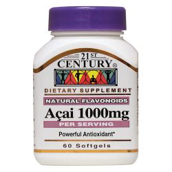 21st Century Acai Berry Extract 1,000 mg 60 Sgels