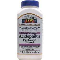 21st Century Acidophilus Probiotic Blend 150 Caps