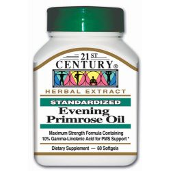 21st Century Evening Primrose Oil 500 mg 60 Sgels