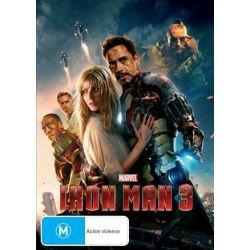 Iron Man 3 on DVD.