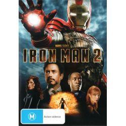 Iron Man 2 on DVD.