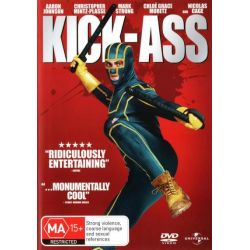 Kick Ass on DVD.