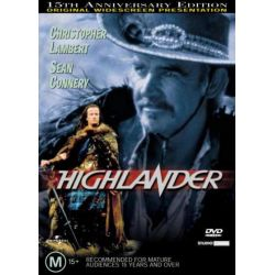 Highlander on DVD.