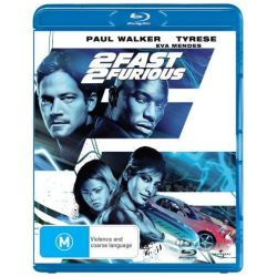 2 Fast 2 Furious on DVD.
