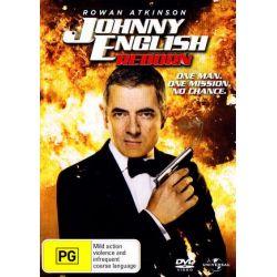 Johnny English Reborn on DVD.