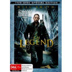 I am Legend (2 Disc) on DVD.