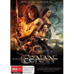 Conan the Barbarian on DVD.
