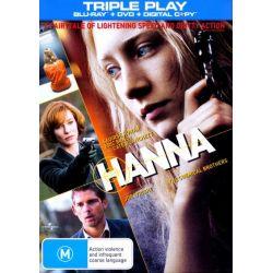 Hanna (Blu-ray/DVD/Digital Copy) on DVD.