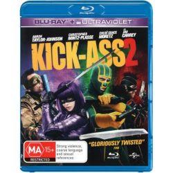 Kick Ass 2 (Blu-ray/UV) on DVD.