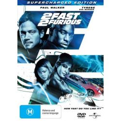 2 Fast 2 Furious (Supercharged Edition) on DVD.