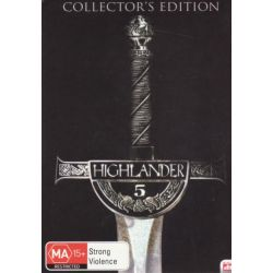 Highlander 5 - Collector's Edition (DTS) on DVD.
