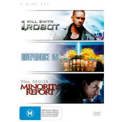 I Robot / Independence Day / Minority Report on DVD.