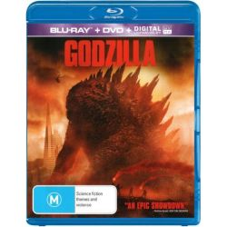 Godzilla 2014 (Blu-ray/DVD/UV) on DVD.