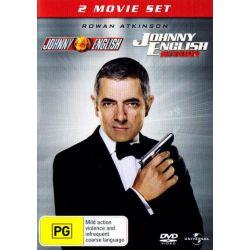 Johnny English / Johnny English Reborn on DVD.