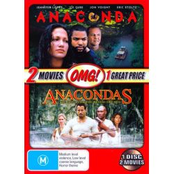 Anaconda / Anacondas on DVD.