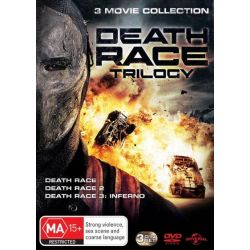 Death Race / Death Race 2 / Death Race 3 on DVD.