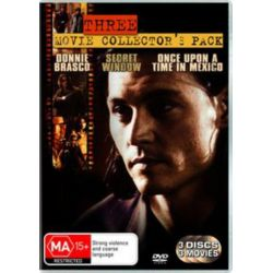 Donnie Brasco / Once Upon A Time In Mexico / Secret Window on DVD.