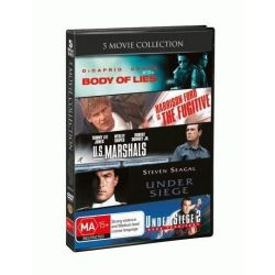 Fugitive / US Marshals /Under Siege / Under Siege 2 /Body Of Lies on DVD.