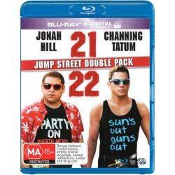 21 Jump Street / 22 Jump Street Double Pack (Blu-ray / UV) on DVD.