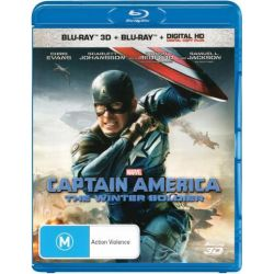 Captain America The Winter Soldier on DVD.