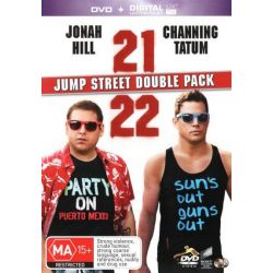 21 Jump Street / 22 Jump Street Double Pack (DVD / UV) on DVD.
