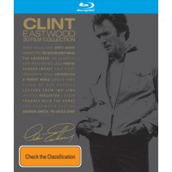 Clint Eastwood 20 Film Collection Boxset (22 Discs) on DVD.