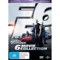 Fast and Furious on DVD.