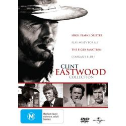 Coogan's Bluff / High Plains Drifter / Play Misty For Me / The Eiger Sanction (4 Movie Clint Eastwood Collection) on DVD.