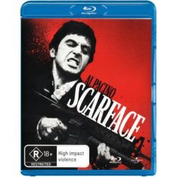 Scarface on DVD.