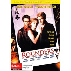 Rounders on DVD.