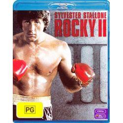 Rocky II on DVD.
