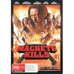 Machete Kills on DVD.