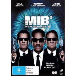 Men in Black 3 on DVD.