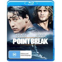 Point Break on DVD.