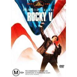 Rocky V on DVD.