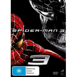 Spiderman 3 on DVD.