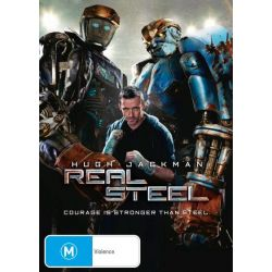 Real Steel on DVD.
