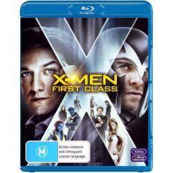 X-Men First Class on DVD.