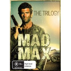 Mad Max Trilogy on DVD.